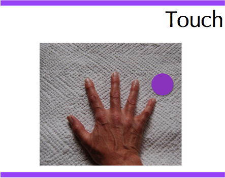 touch hand