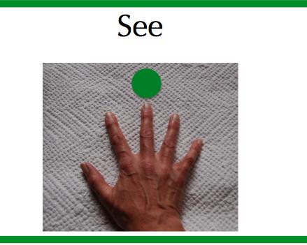 see hand